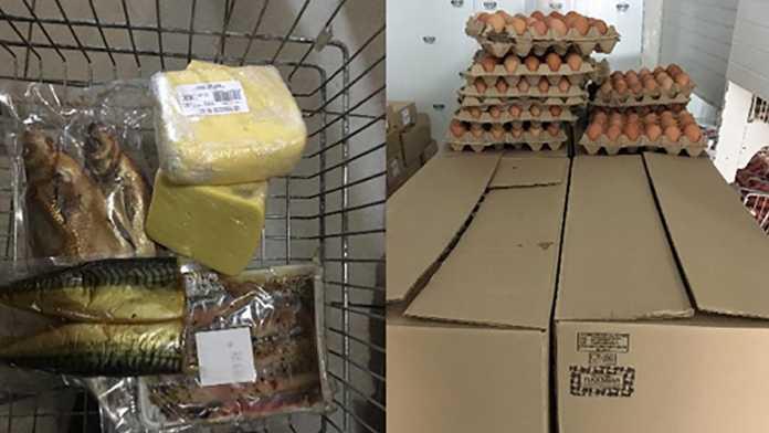 В «Светофоре» продавали опасную продукцию - сыр, колбаса, рыба, яйца...