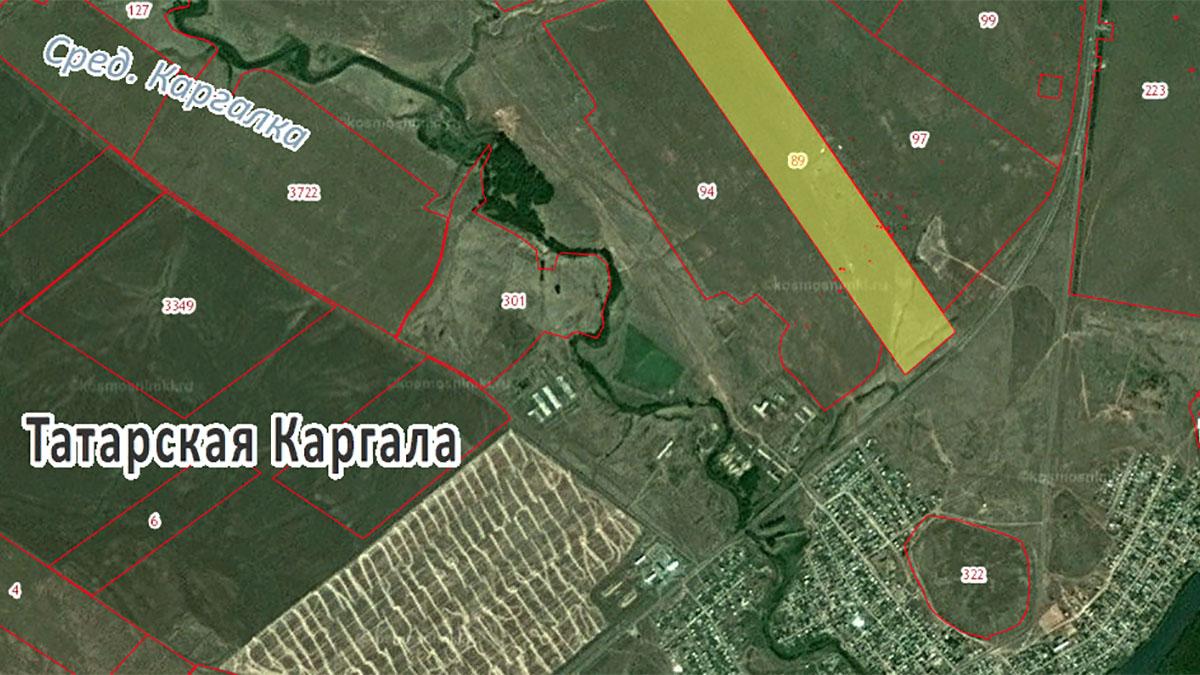 Свалка возле Татарской Каргалы