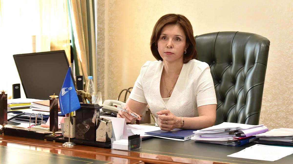 Ректор ОГУ Жанна Ермакова