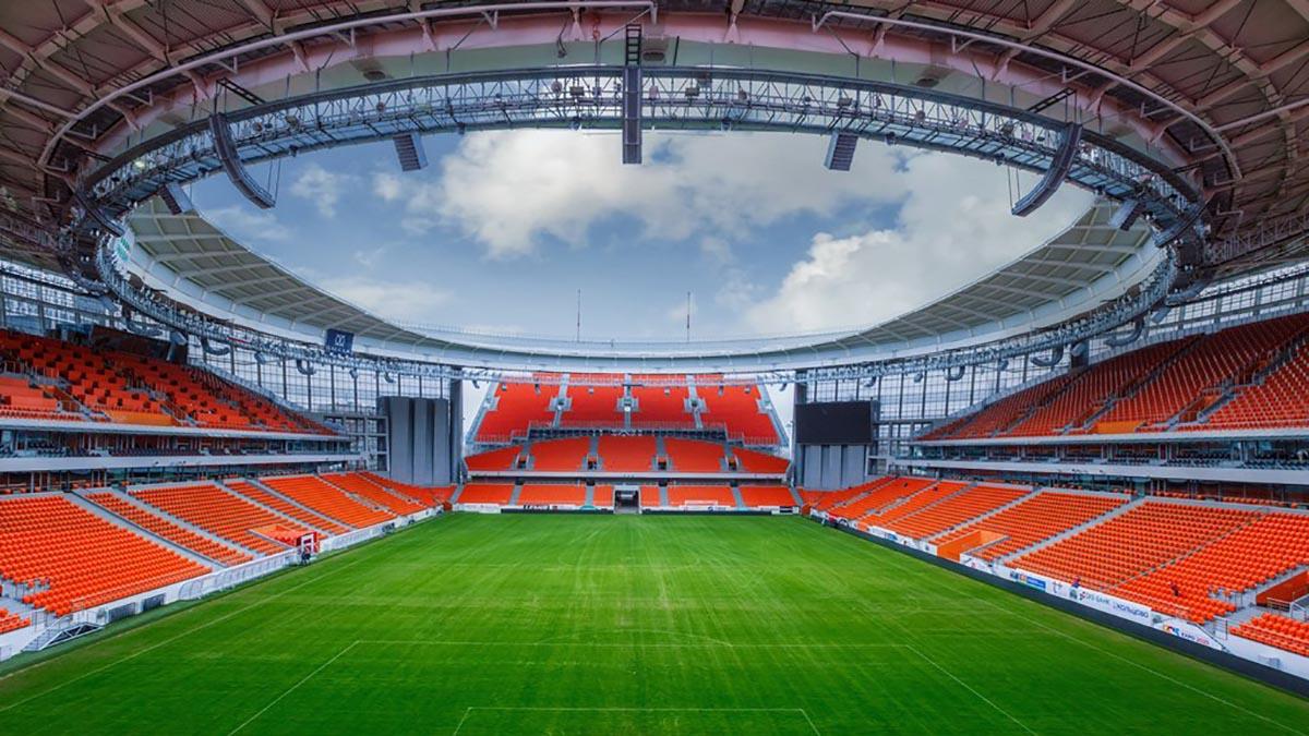 Стадионы Чемпионата мира по футболу сделаны из стали Металлоинвеста