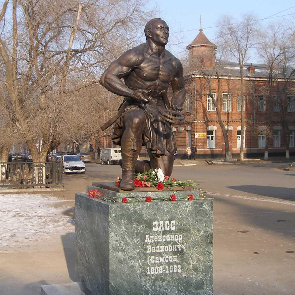 В день открытия памятника Зассу-23-12-2008 года