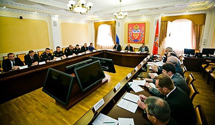 Юрий Берг провел заседание областной антитеррористической комиссии