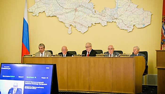 Юрий Берг поблагодарил четвертый созыв Общественной палаты за работу