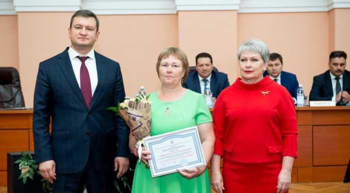 В администрации Оренбурга вручили награды