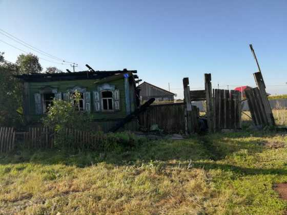 В Черноречье женщина и её двое детей погибли в пожаре