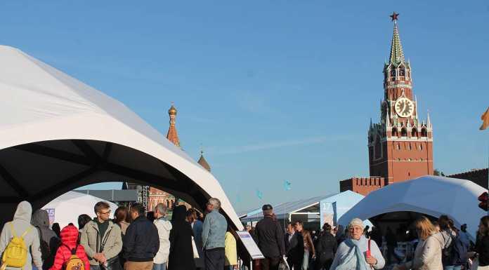 Книжный фестиваль «Красная площадь» завершился для оренбуржцев весьма успешно