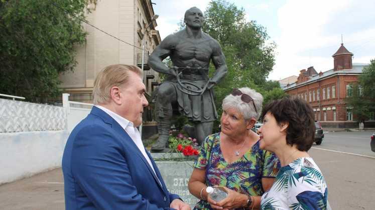 В четверг в Оренбурге вспоминали Александра Засса
