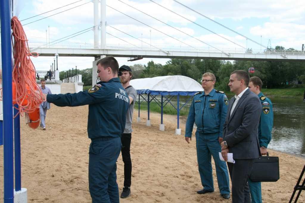 Пляж на Урале готов к открытию купального сезона