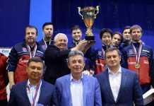 Оренбургский «Факел-Газпром» в восьмой раз выиграл титул чемпиона России!