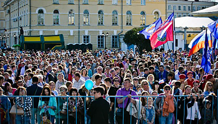 День России в Оренбурге