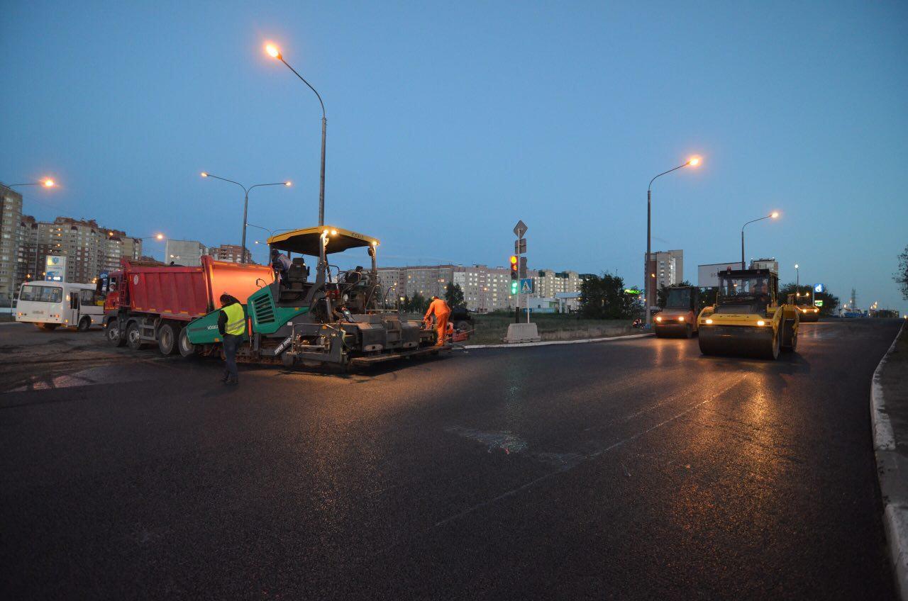 Дорожные работы в Оренбурге
