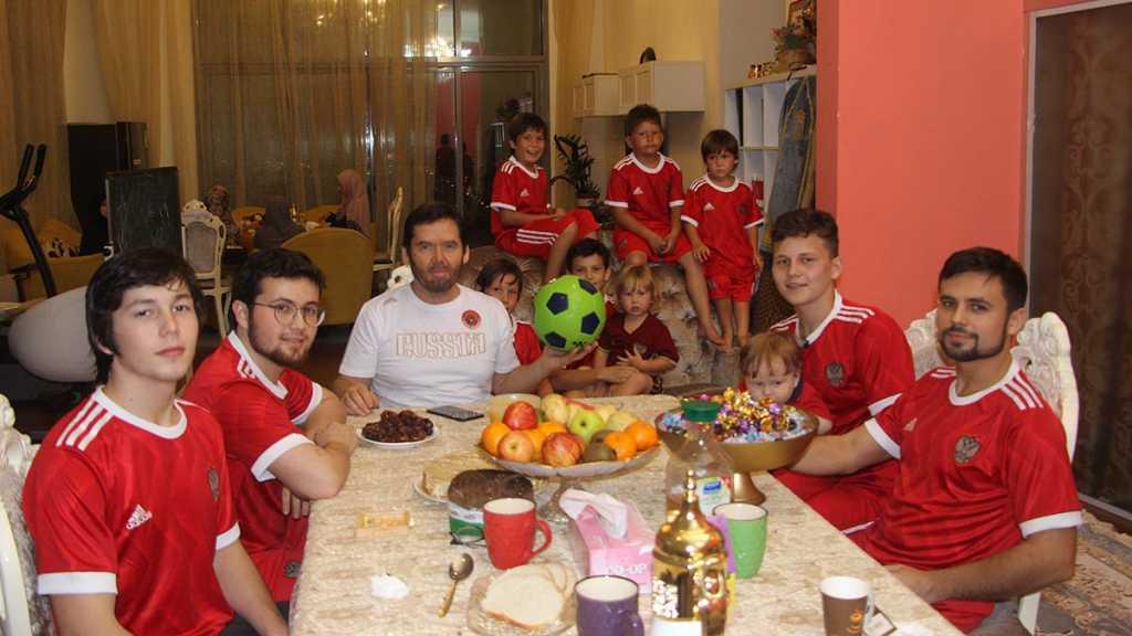Исмагил Шангареев и его футбольная команда