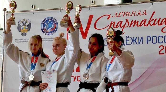 Диана Тунян завоевала бронзовую медаль на Спартакиаде по дзюдо