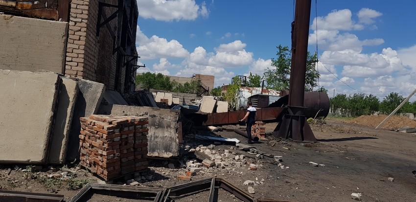 39-летний рабочий погиб при демонтаже вентиляционной трубы
