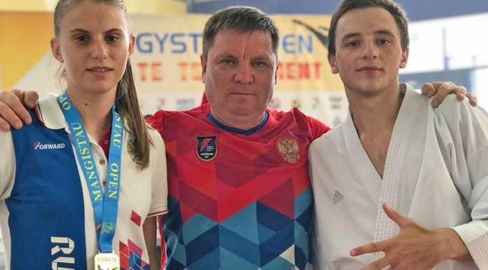 Спортсмены из Оренбурга стали призерами Международного турнира по каратэ