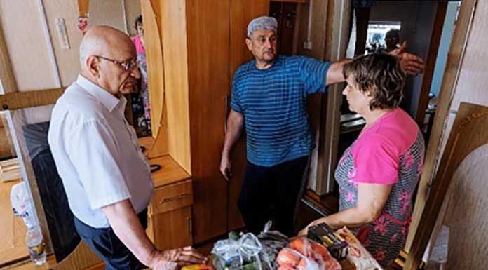 Юрий Берг: «Помощь жителям села Зеркло, пострадавшим от водной стихии, будет оказана в полном объеме»