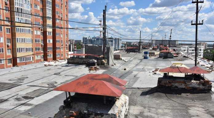 Капитальный ремонт крыши дома на Чкалова, 70