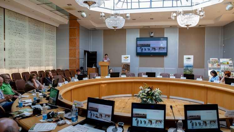 Эксперты в области охраны животных из США, посетили в Оренбурге семинар