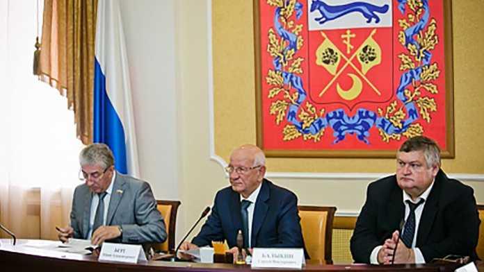 Правительство области и Юрий Берг