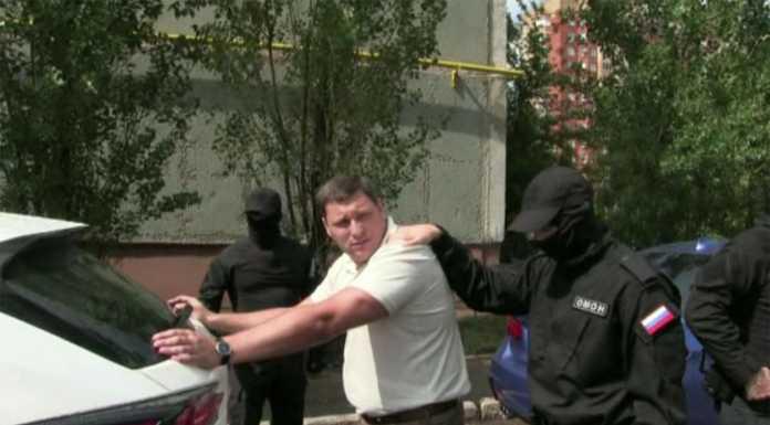 Задержание Борисова