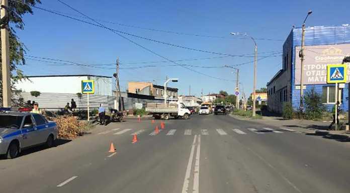 Мотоциклист сбил подростка на пешеходном переходе