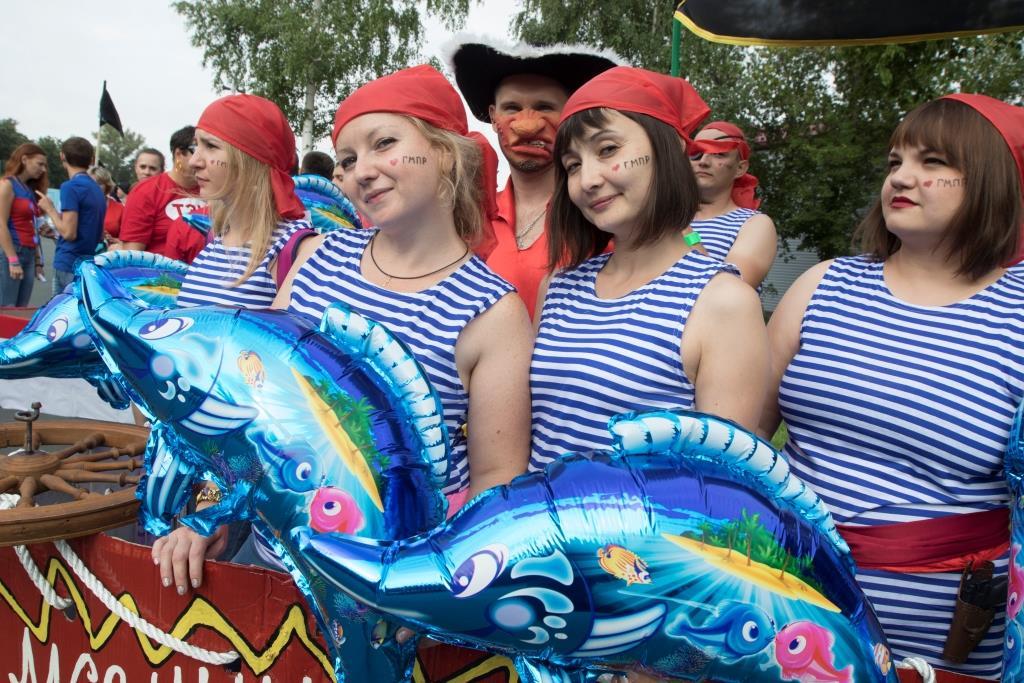 Молодые работники Уральской Стали приняли участие в корпоративном профсоюзном фестивале