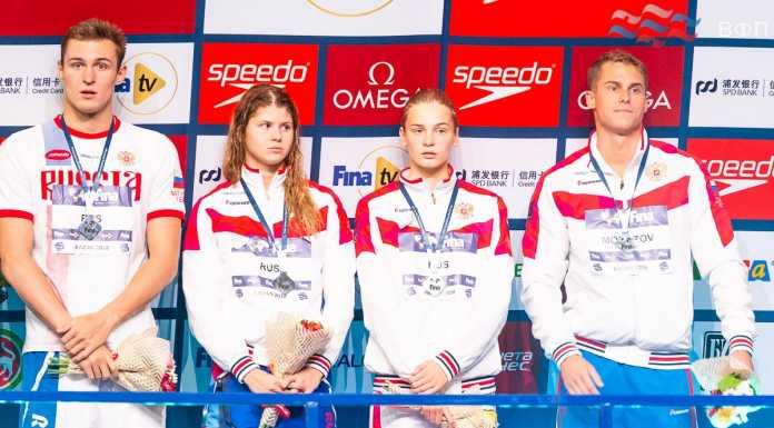 Мария Каменева завоевала три медали на Кубке мира по плаванию