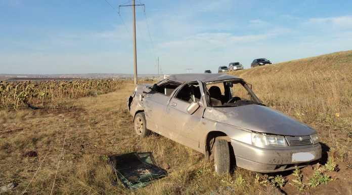По вине водителя КАМАЗа произошло ДТП