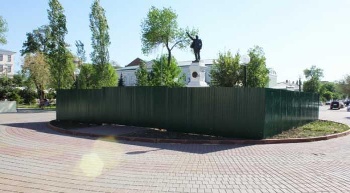 Памятник В.И. Ленину в Оренбурге будет сохранен