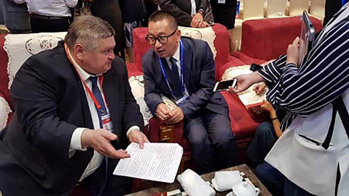 Делегация Оренбургской области работает в Китае