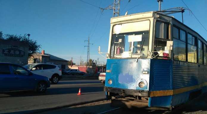 Вновь пешеход попал под колеса трамвая