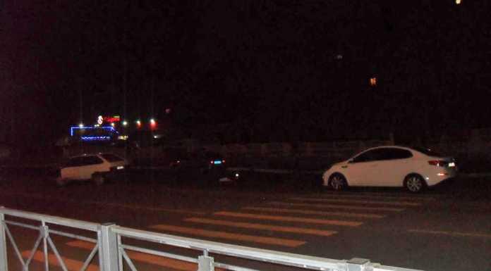 Водитель «девятки» сбил пешехода и врезался в иномарку