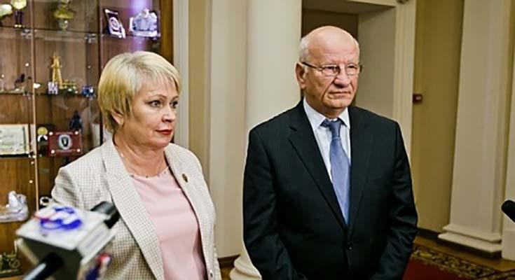 Юрий Берг и Ольга Березнева