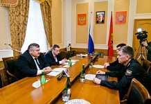 Сергей Балыкин провел встречу с главным судебным приставом России Дмитрием Аристовым