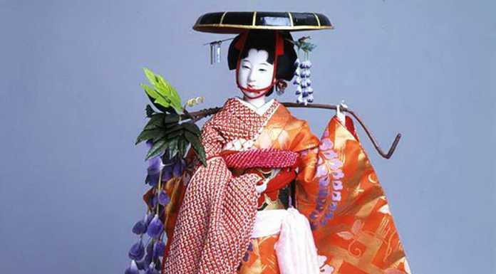 Празднование Нового года в японском стиле