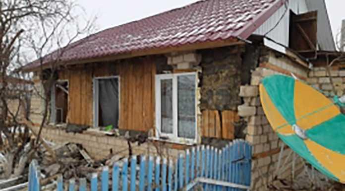 Хлопок газа разрушил частный дом. Есть пострадавший