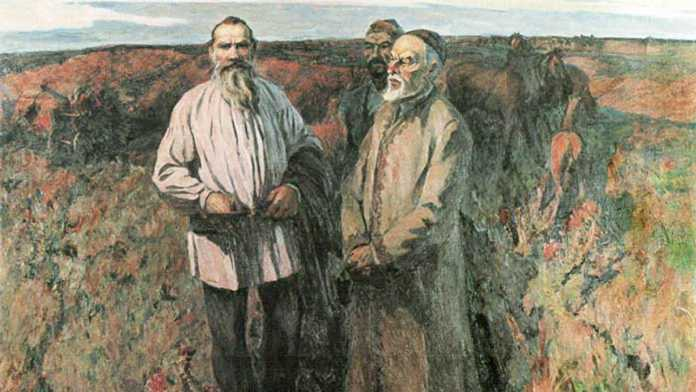 Амир Арсланов. Лев Толстой в степях Башкирии
