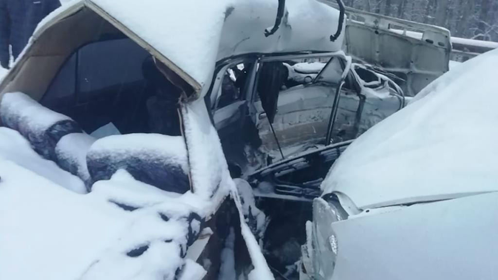 3-летний ребенок погиб в ДТП под Оренбургом