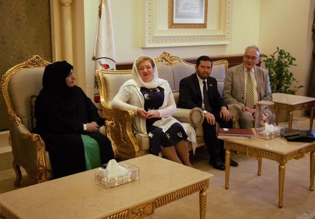 Переговоры в Консультативном Совете эмирата Шарджа (13 декабря, 2018 г.)