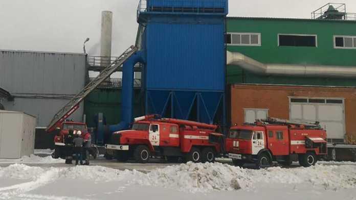 Пожар на ООО «НСплав»