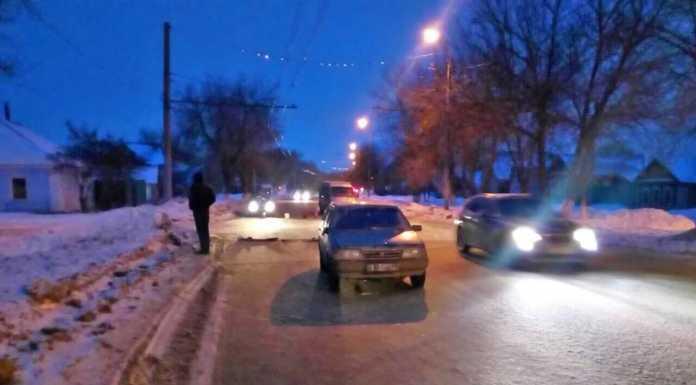 10-летнюю девочку сбили на улице Магнитогорская