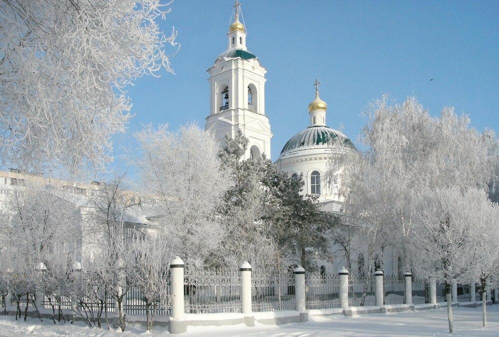 Никольский кафедральный собор г. Оренбурга