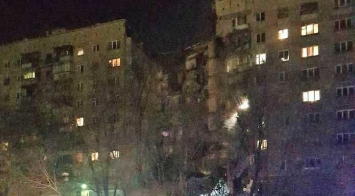 взрыв в Мсагнитогорске