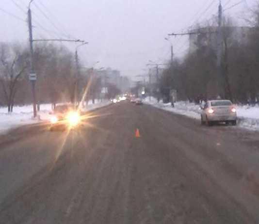 На Театральной водитель сбил женщину-пешехода