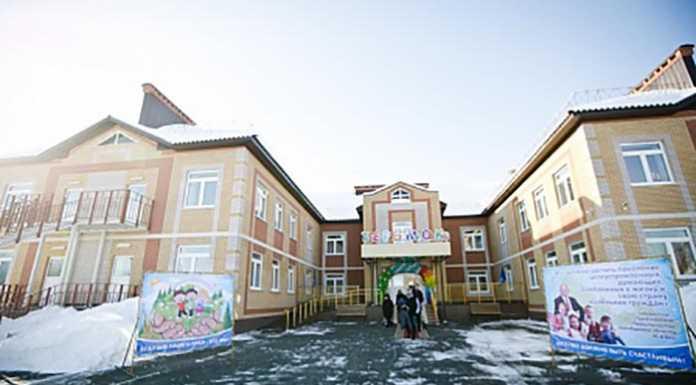 В райцентре Илек открылся детский садик «Теремок»
