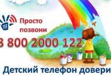 Выставка детских рисунков о службе телефона доверия