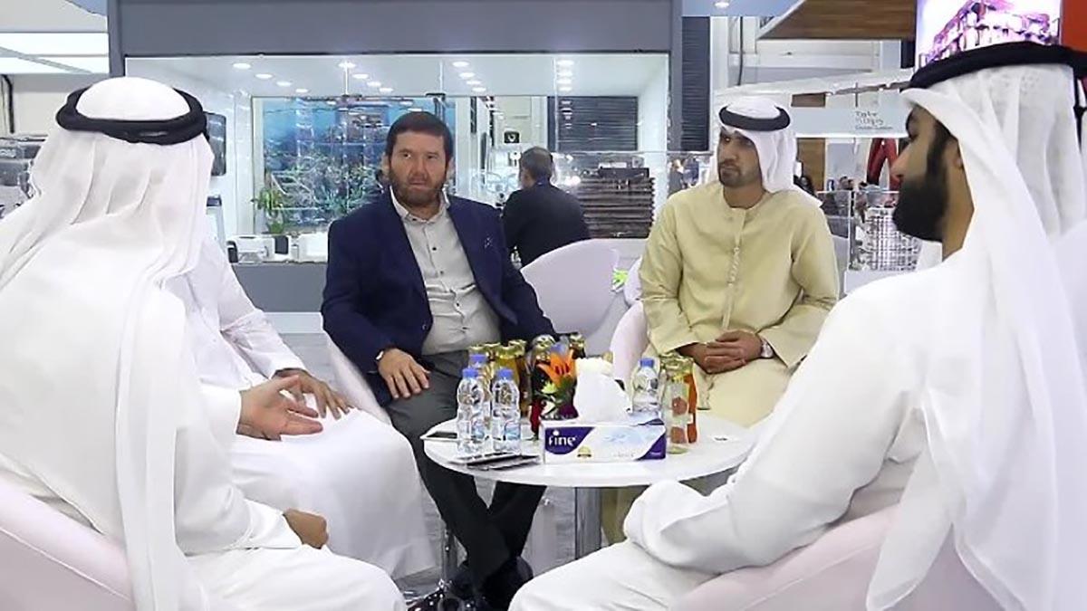 Исмагилу Шангарееву в общении с арабскими партнерами не нужен переводчик.