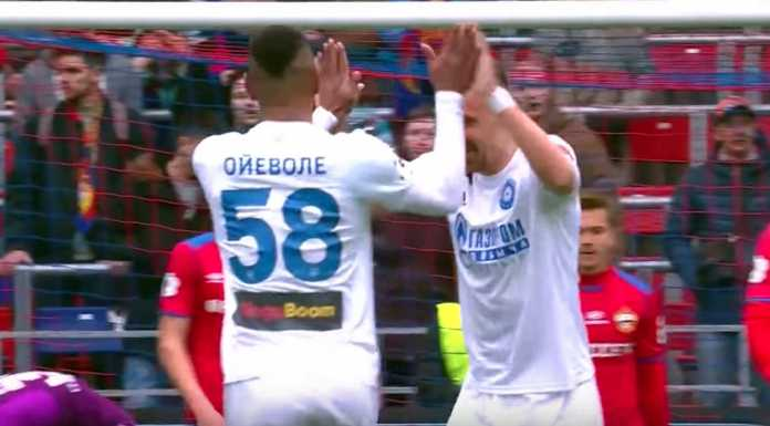 Футбольный клуб «Оренбург» победил столичный ЦСКА