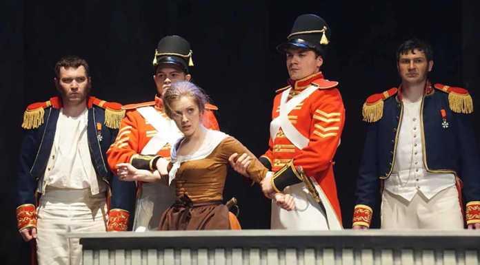 Романтическую комедию «Корсиканка» покажут на XI «Гостином дворе»