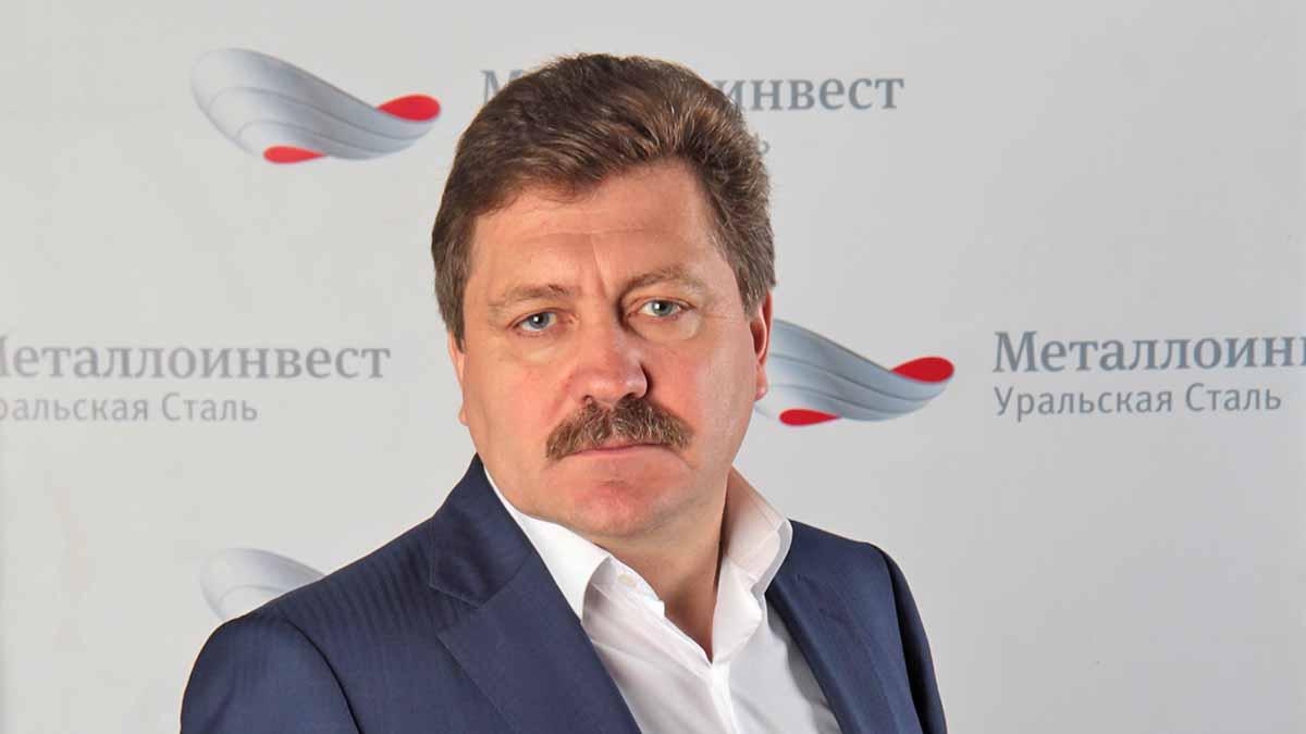 Управляющий директор АО «Уральская Сталь» Евгений Маслов